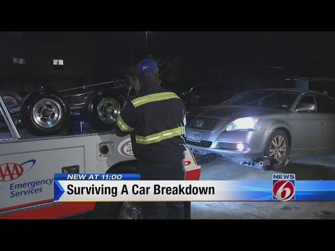 How to survive a car breakdown