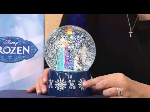 Disney's Frozen Musical Snowglobe with Light and Snow in Giftbox