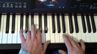 Piano bladmuziek; Decemberboek deel 1: Kerst: De herdertjes lagen bij nachte (Yamaha CVP 605)