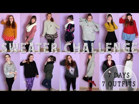 d4d56b3c6d7 Style Lookbook  Sweater Challenge  1 ⁂ Fashionfruits - YouTube