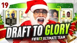 HOLY SH*T 3 INSANE LEGENDS ONE DRAFT TO GLORY FIFA 17 ULTIMATE TEAM #19