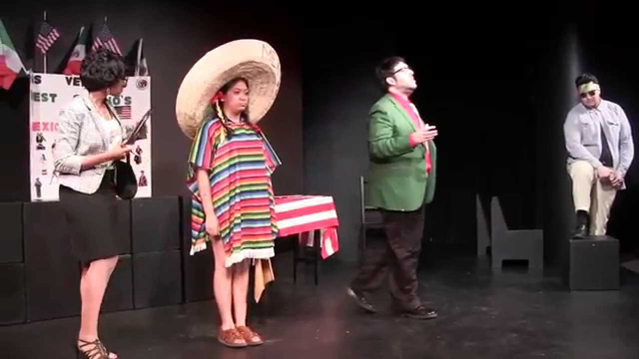 What is the voice of Los Vendidos?