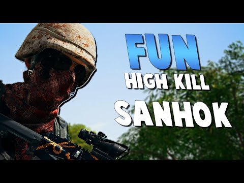 Fun High Kill Squad On Sanhok - PUBG Gameplay