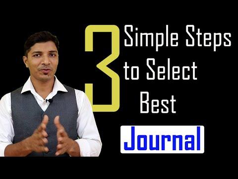 Simple Steps To Select Best Unpaid/SCI/Scopus Journals For Paper Publication