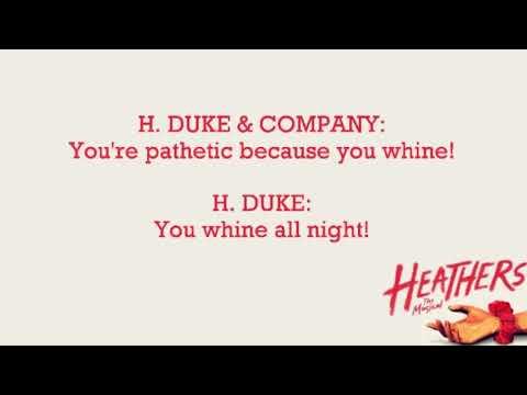 Heathers: The Musical: Shine a light (Reprise) - Karaoke Version