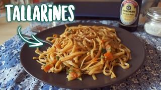 Pasta con verduras en salsa de soja • Receta vegetariana