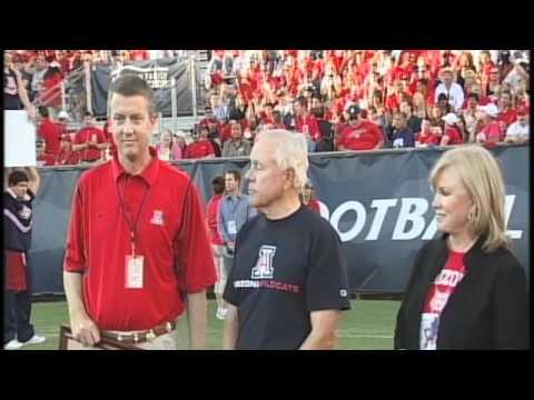 Dick Tomey Tribute - Arizona Stadium Oct. 9, 2010