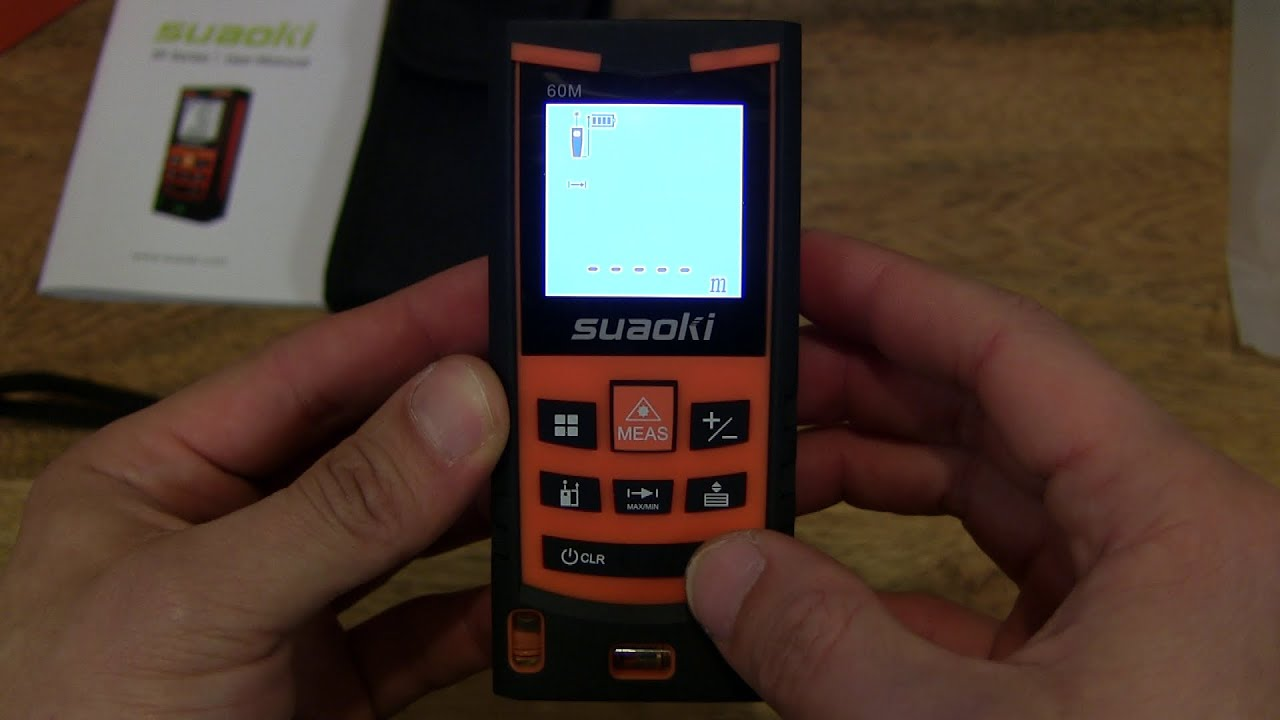 Suaoki s9 laser distance meter youtube