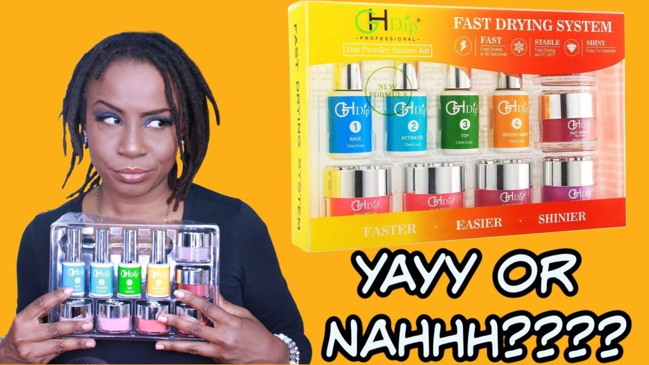 GH Dip Powder Nail Kit Acrylic Nail Dip Powder Kit