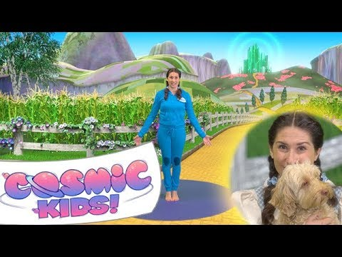 The Wizard Of Oz A Cosmic Kids Yoga Adventure Youtube