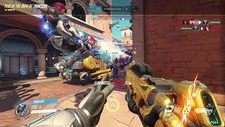 Soldier76 Rialto Pentaple Kills  Potg Overwatch