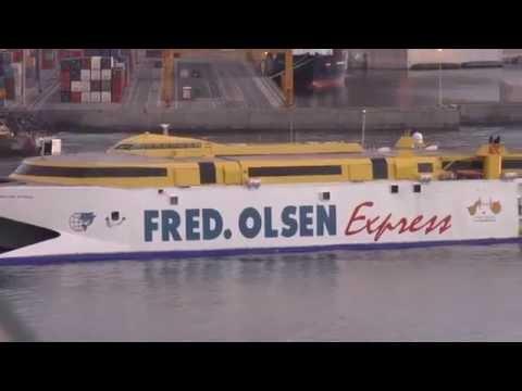 Fred Olsen Ferry at Tenerife