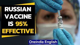 Russia's Sputnik V vaccine is 95% effective | Latest update | Oneindia News