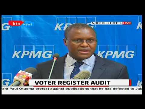 VOTER REGISTER AUDIT: - FULL SPEECH] - How KPMG plans to audit Register of Voters