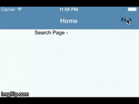 react native search from navigation bar youtube