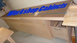 Build Workshop Cabinets With Storage Part 1 Of 2