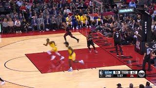 2nd Quarter, One Box Video: Toronto Raptors vs. Golden State Warriors
