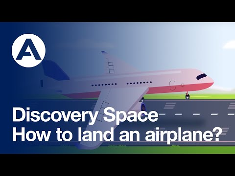 How to land an airplane | Discovery Space