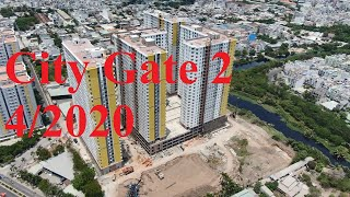 Tiến Độ Thi Công Dự Án Căn Hộ City Gate 2 - Diamond Riverside 4/2020 Mới Nhất Hoàn Thiện Sơn Nước