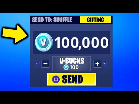 HOW TO GIFT SKINS IN FORTNITE! [Gifting System] *NEW*