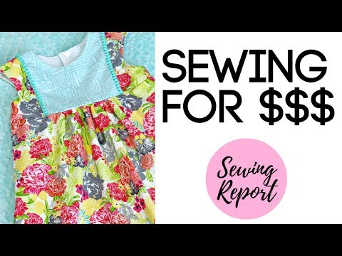 SELLING IT! Handmade Items on Etsy? Craft Fairs? Is it Worth It? $$$ | LIVE SHOW | SEWING REPORT