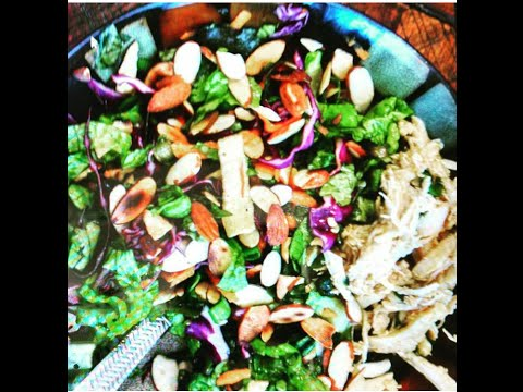 Healthy Recipe/ Asian/ Chinese Chicken Salad simple homemade recipe