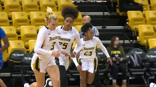 Towson Women's Basketball improves to 4-0 in CAA with 92-68 win over Hofstra