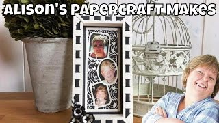 Alison's Papercraft Makes - Shadowbox Creation
