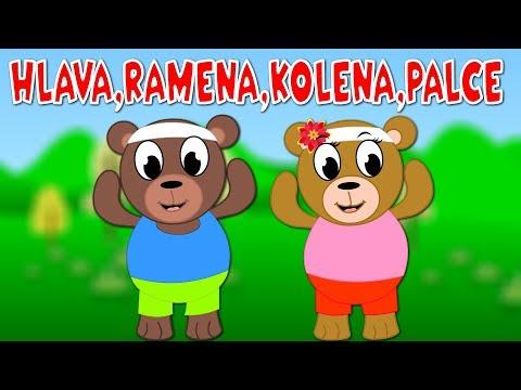 Hlava, ramena, kolena, palce - Písničky pro děti a nejmenší