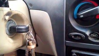 Привязка ключа к сигнализации в Chery QQ Sweet.