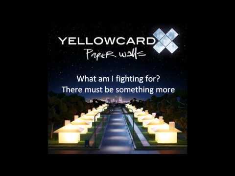 Yellowcard  Fighting Instrumental Lyrics On Screen HQ HD