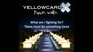 Yellowcard - Fighting (Instrumental) Lyrics On Screen [HQ] [HD]