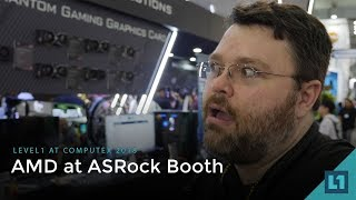 Computex 2018: AMD @ the ASRock Booth -- Custom GPUs, new B450 motherboards and Mining Gear w/ethOS