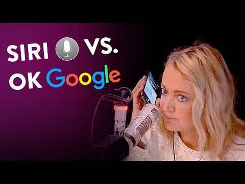 PROOF That 'Ok Google' Works BETTER Than Apple's Siri! KIIS1065, Kyle & Jackie O