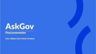 OGP Hackathon 2020 - AskGov