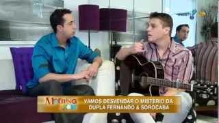 Morning Show: Conheça Santiago, o 'primeiro Fernando' da dupla com Sorocaba