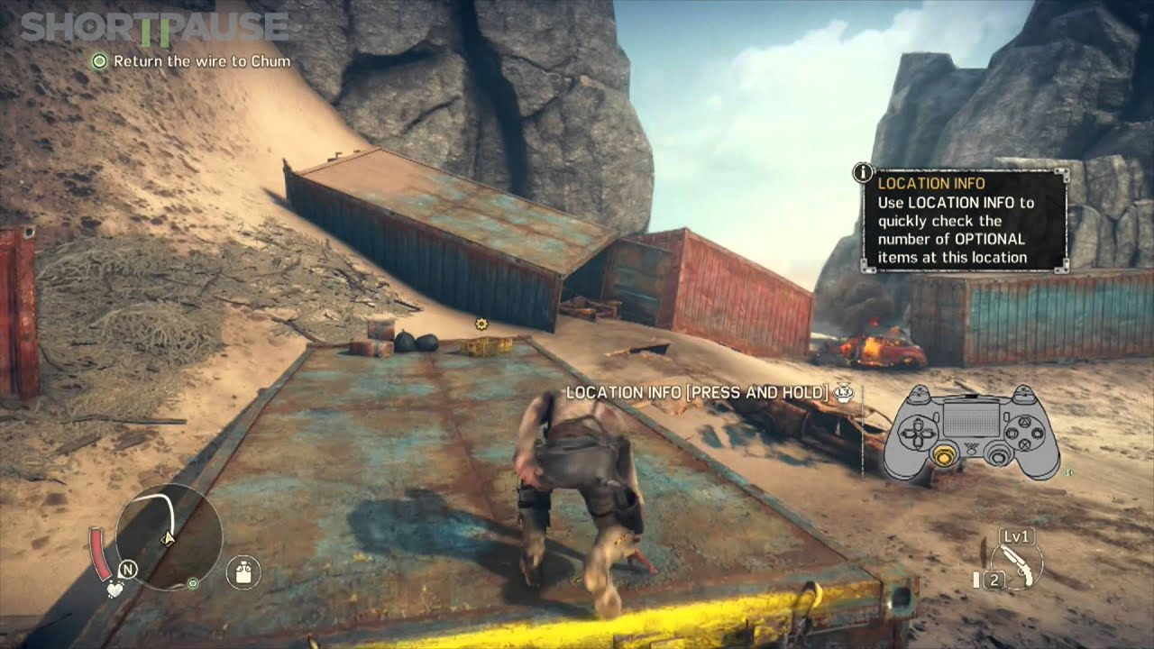 Mad Max First 20 Minutes PS4 Gameplay