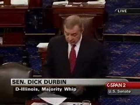 Dick Durbin is confused