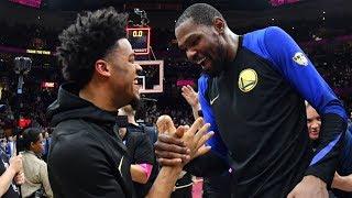 Quinn Cook Behind The Scenes At NBA Finals