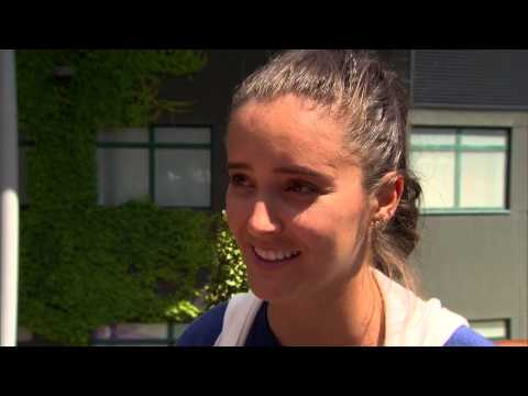 Laura Robson interviews for the job of Wimbledon Champion