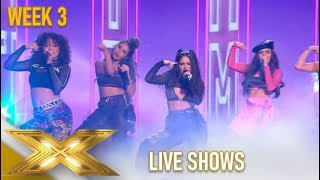 V5: They KILL IT! Nicole SAYS They Are The New Latin Fifth Harmony!| The X Factor 2019: Celebrity