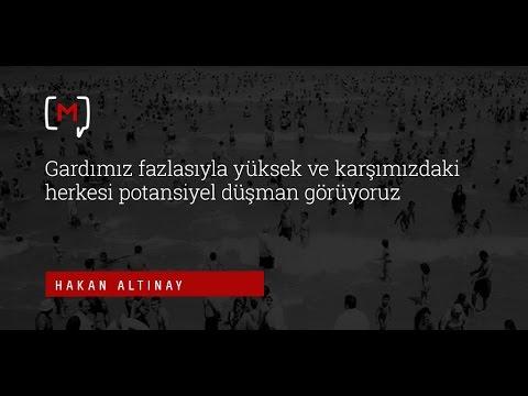 """Hakan Altınay: """"Gardımız fazlasıyla yüksek ve karşımızdaki herkesi potansiyel düşman görüyoruz"""