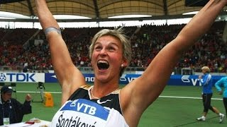 Barbora Spotakova / Sets World Record / Women's Javelin Throw / 72.28