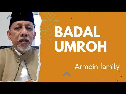 HADIAH PAHALA UMROH   BADAL UMROH  .