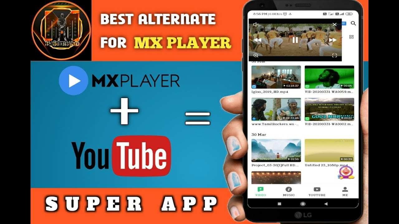 Download Best Alternative for Mx Player and YouTube 2020 (Tamil)   Single App With Multiple Features   Master