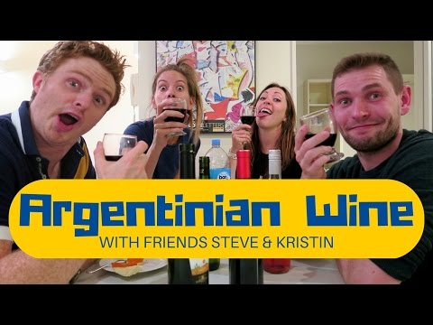 Drinking Argentinian Wine in Buenos Aires (feat. Steve & Kristin)