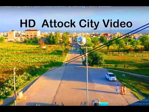 Attock City Beauty of Punjab Attock City Haro Point Attock Station & Railway Park Pakistan Muqaddis
