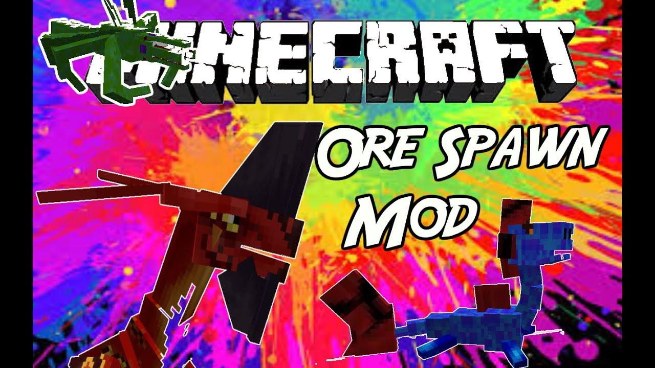 Minecraft Mod Ore Spawn Mod 1 7 10