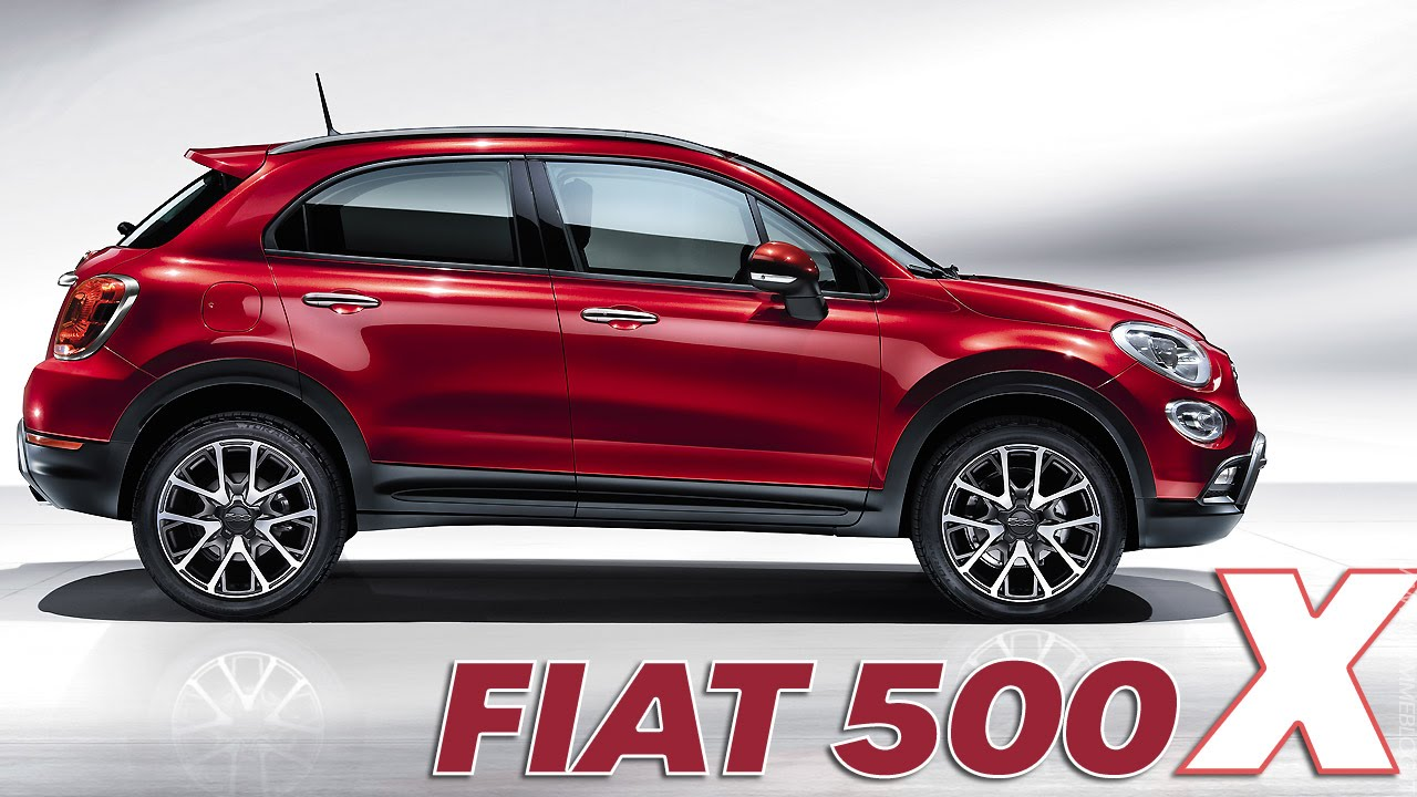 Fiat 500 X Design Interno Esterno Youtube