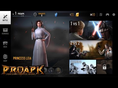 Star Wars: Force Arena Android Gameplay (iOS/Android) (by Netmarble Games)